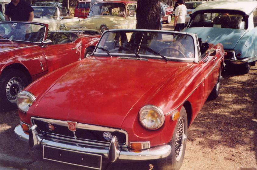 MG B roadster 1973