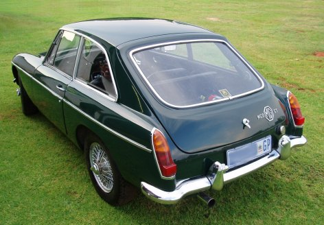 MG B GT British Racing Green